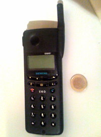 Handy 1997 Siemens E10D